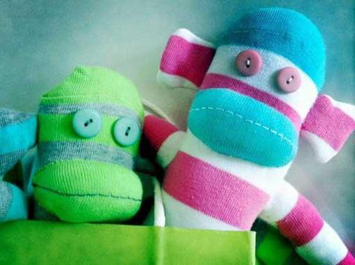 Sock Monkeys & Toys